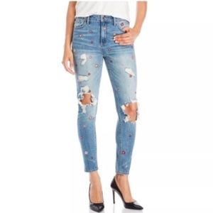 Lucky Brand | Bridgette Skinny Embroidered Jeans